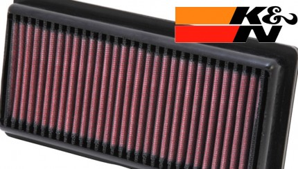 kn airfilter 430x244 K&N performance filter