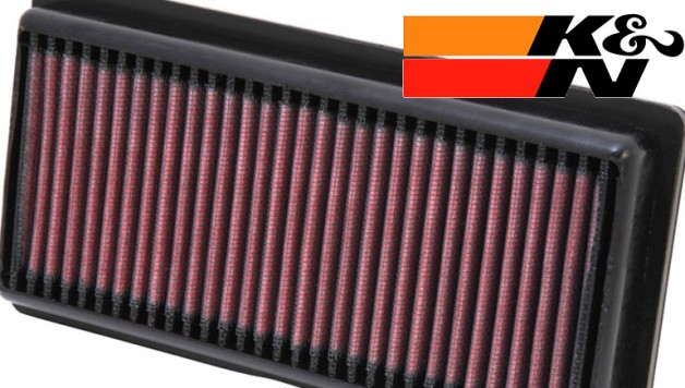 kn airfilter 628x356 K&N performance filter