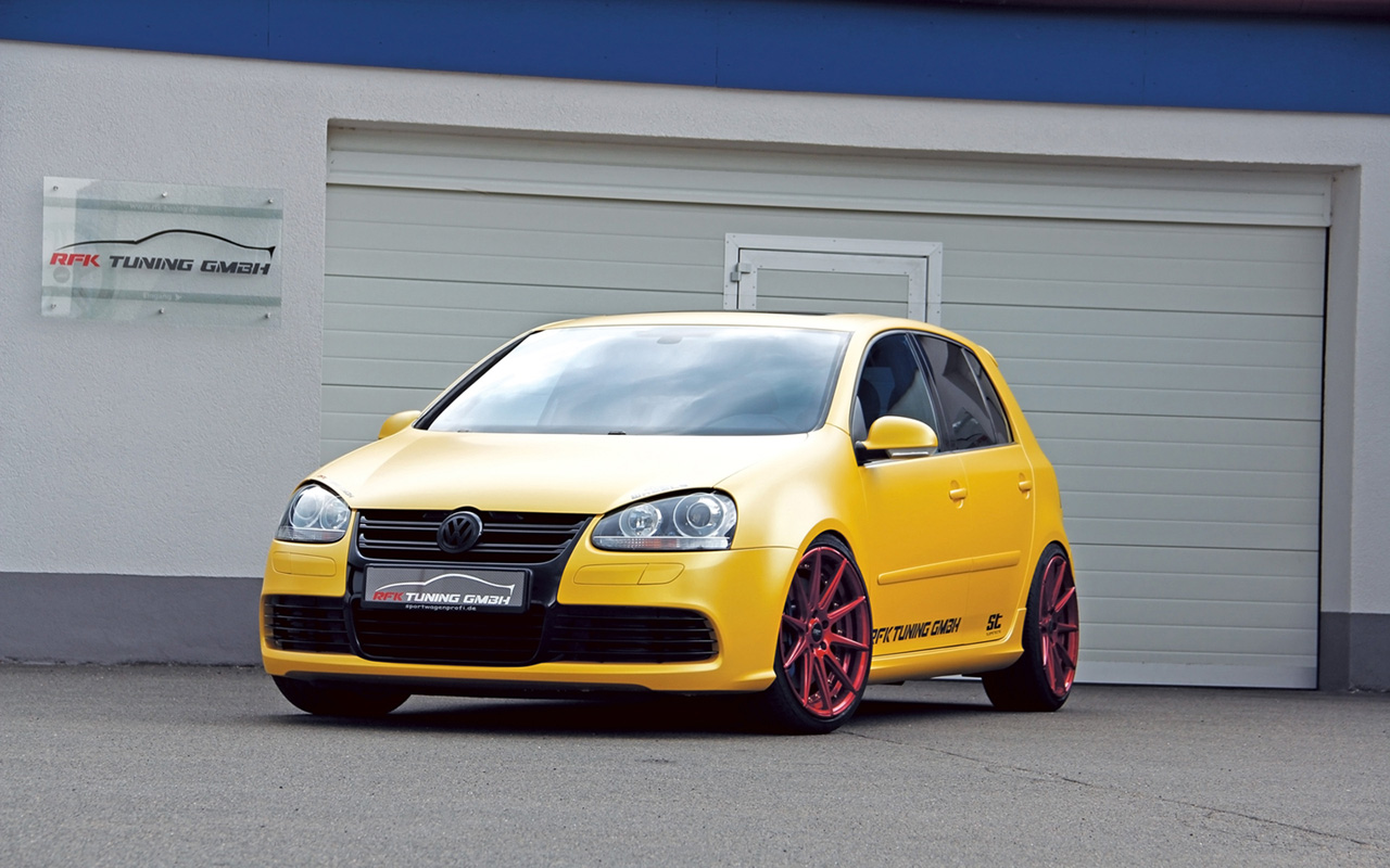 rfk tuning golf V The RFK Tuning VW Golf Mk 5 R32