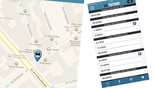 tuture 628x356 Tuture application   dont forget where your car is parked