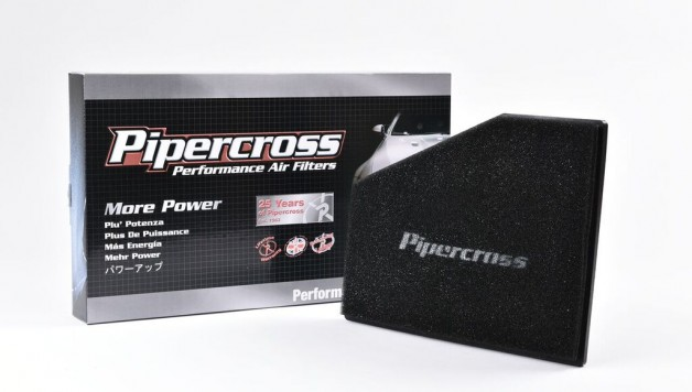 Pipercross Black Filter and Box 628x356 Pipercross launches VW Polo WRC Panel Filter