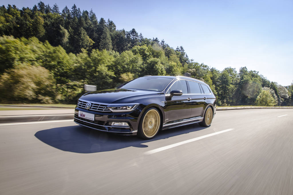 Kw Coilovers For The New Vw Passat 4motion