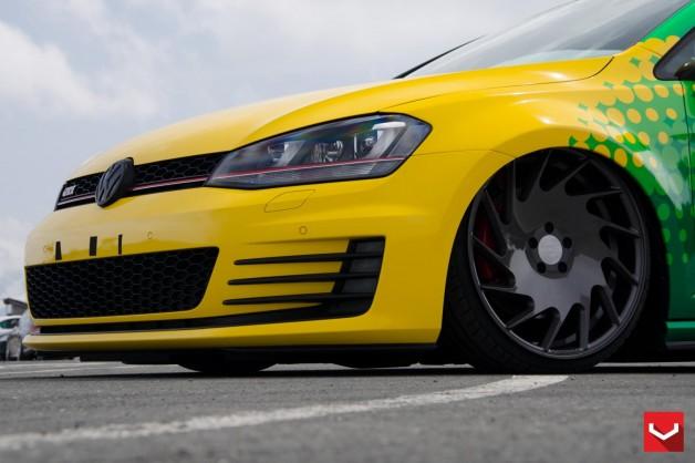 VW GTI VLE1 d13 628x418 Vossen Wheels VLE 1  7 down