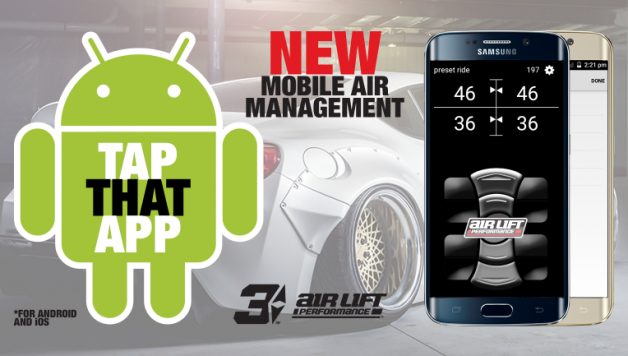 android app social landscape 628x356 Air Lift Performance Releases 3H / 3P Android Mobile App