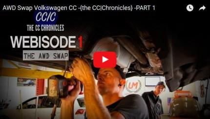 awdswapcc 430x244 AWD Swap Volkswagen CC