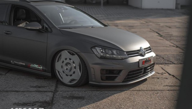 golf 7 messer wheels 628x356 VW Golf 7 with Messer ME09 1 wheels