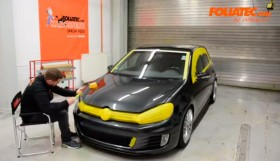 how to paint 280x161 How To Paint a VW Golf with Foliatec