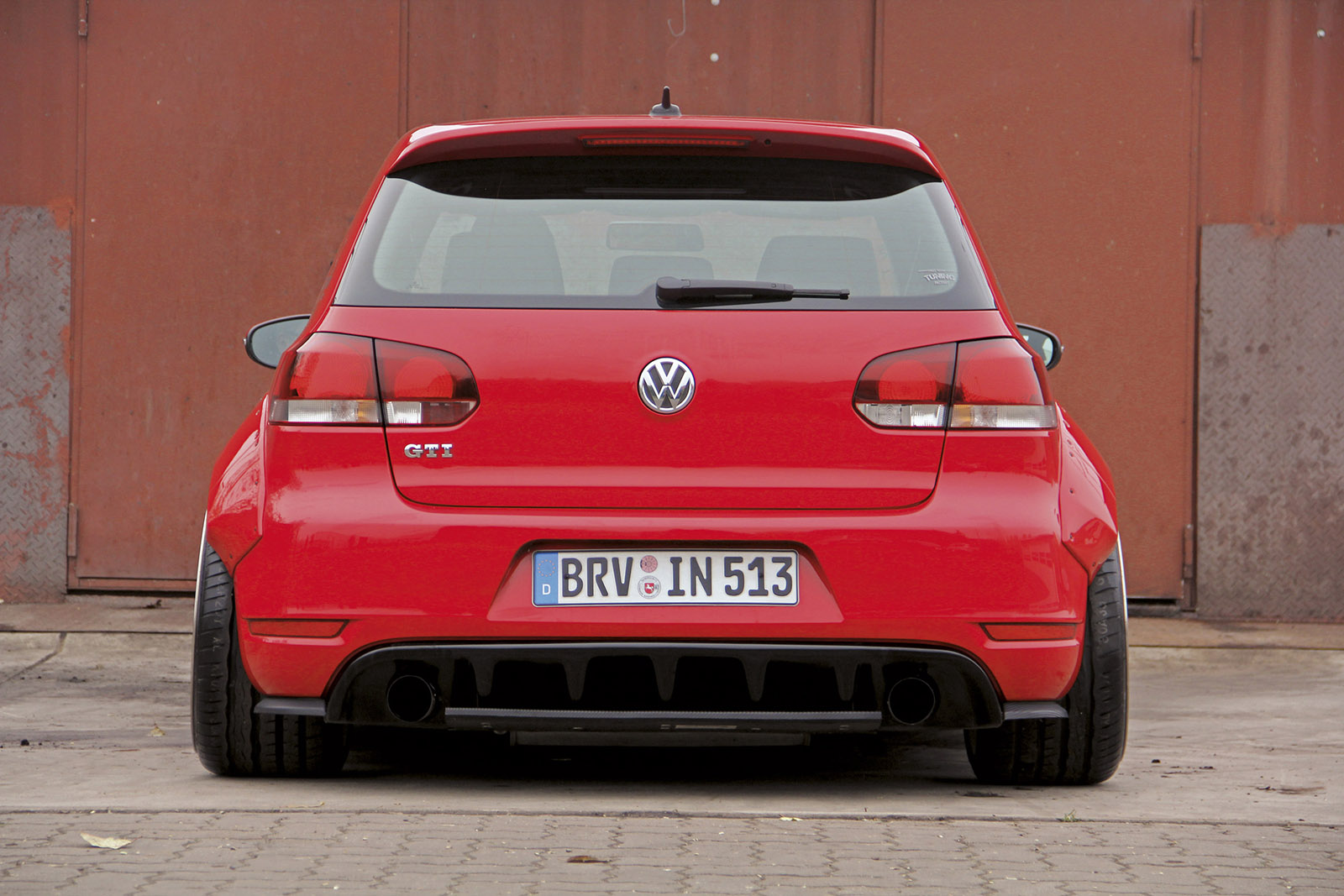ingo noak golf 6 rocket bunny style for vw. Black Bedroom Furniture Sets. Home Design Ideas