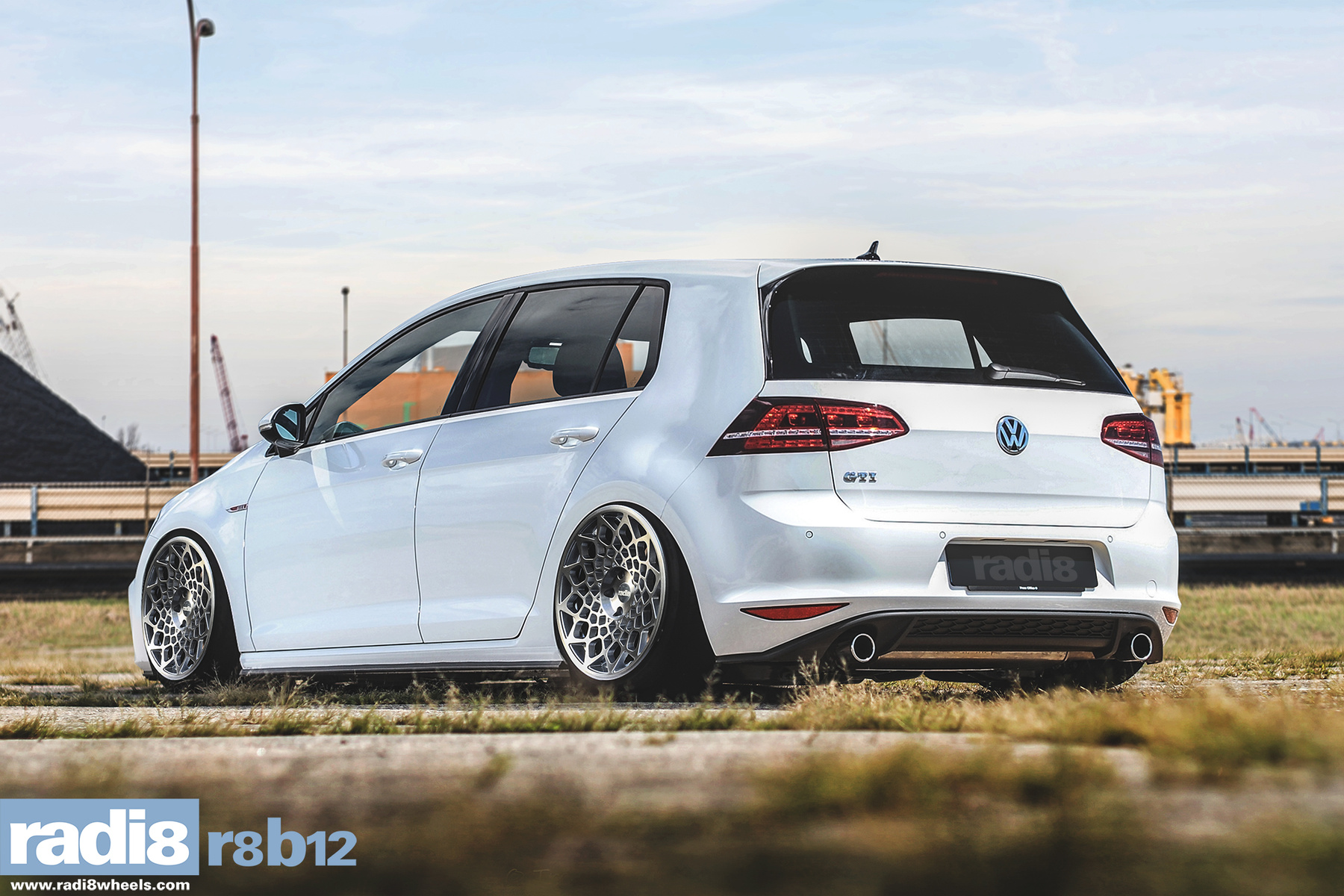 Volkswagen On Radi8 Wheels