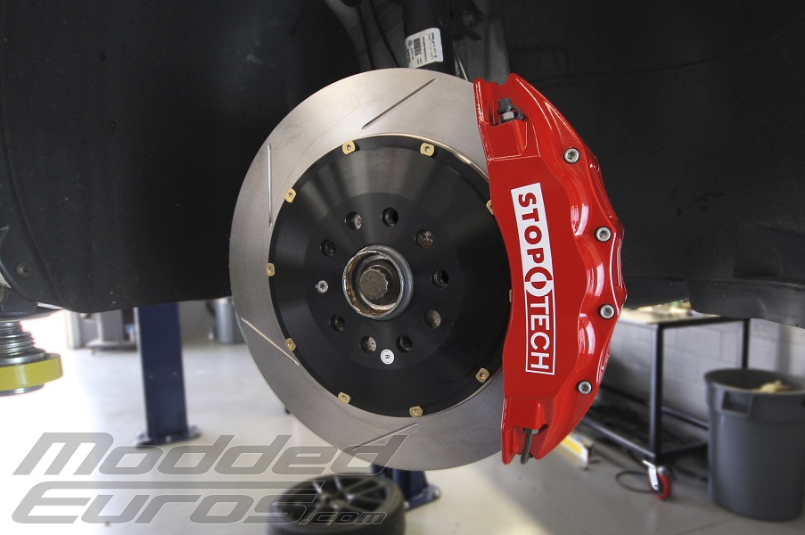 stoptech6 moddedeuros Volkswagen MK7 GTI Project car: StopTech 6 Piston Brake Kit