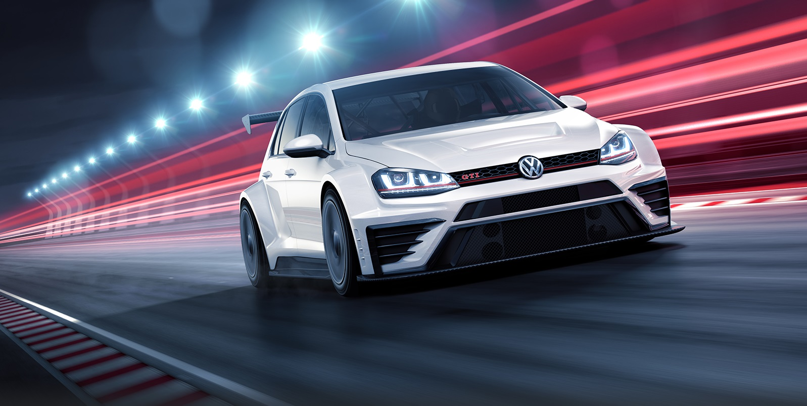 Golf gti TCR 3 Volkswagen Motorsport Golf GTI TCR