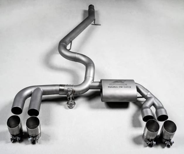 amp exhaust golf Alphamale Performance Valvetronic Exhaust System Volkswagen Golf R
