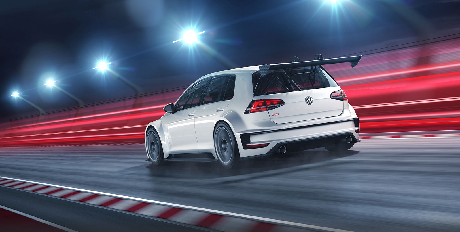 golf gti TCR 2 Volkswagen Motorsport Golf GTI TCR
