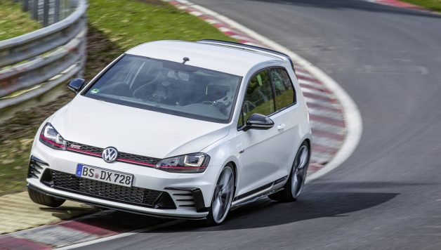 golf gti clubsport s 628x356 Golf GTI is now the fastest front wheel drive car on the Nürburgring Nordschleife