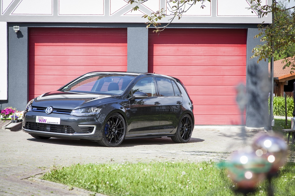 low KW Golf7 GTE 004 KW coilover kits for VW Golf 7 GTE available