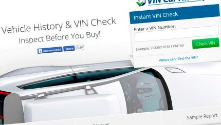 vin car history 430x244 Vin Car History Adds Whopping 1 BILLION Car History Records