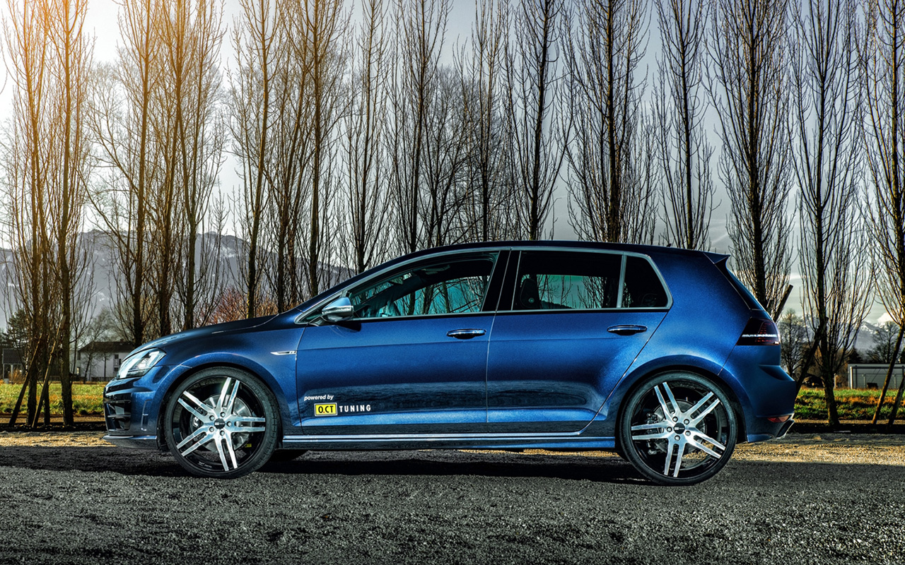 a muscled beast powered by o ct tuning the golf vii r. Black Bedroom Furniture Sets. Home Design Ideas