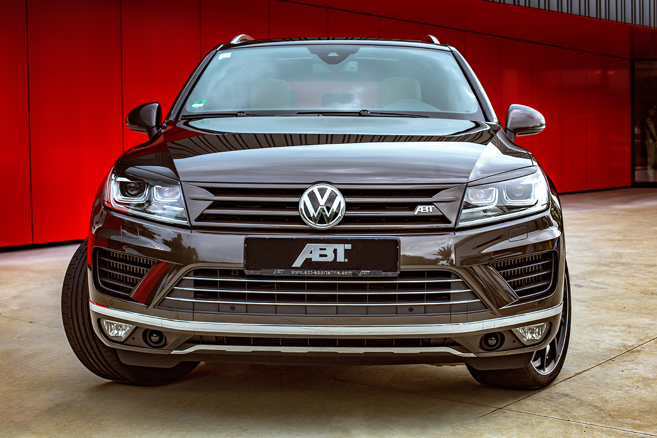ABT VW Touareg 005 ABT Touareg: Premium SUV with up to 385 HP