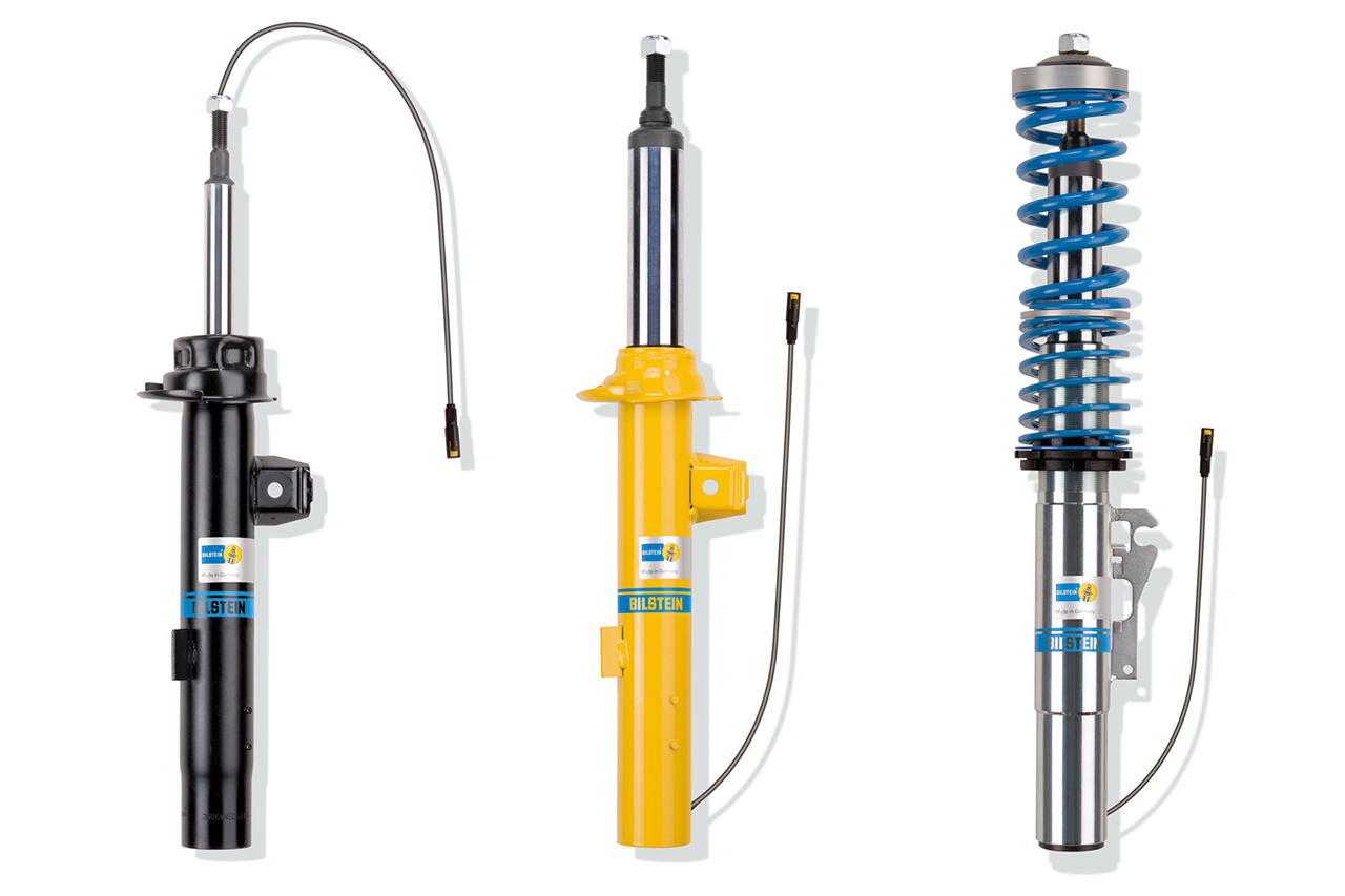 03 04 BILSTEIN B4DT B6DT B16DT BILSTEIN announces DampTronic® suspensions and shocks for VW Golf VII, Passat B8 and related platforms