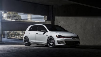 vw golf 7 vmr wheels 2 430x244 VW MK7 GTI on V710FF Matte Graphite 19″