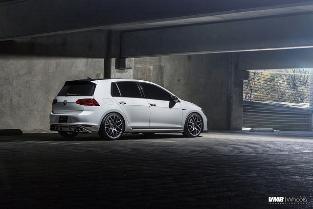 vw golf 7 vmr wheels 5 VW MK7 GTI on V710FF Matte Graphite 19″