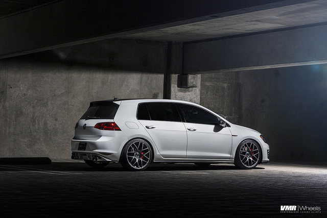 vw golf 7 vmr wheels 6 VW MK7 GTI on V710FF Matte Graphite 19″