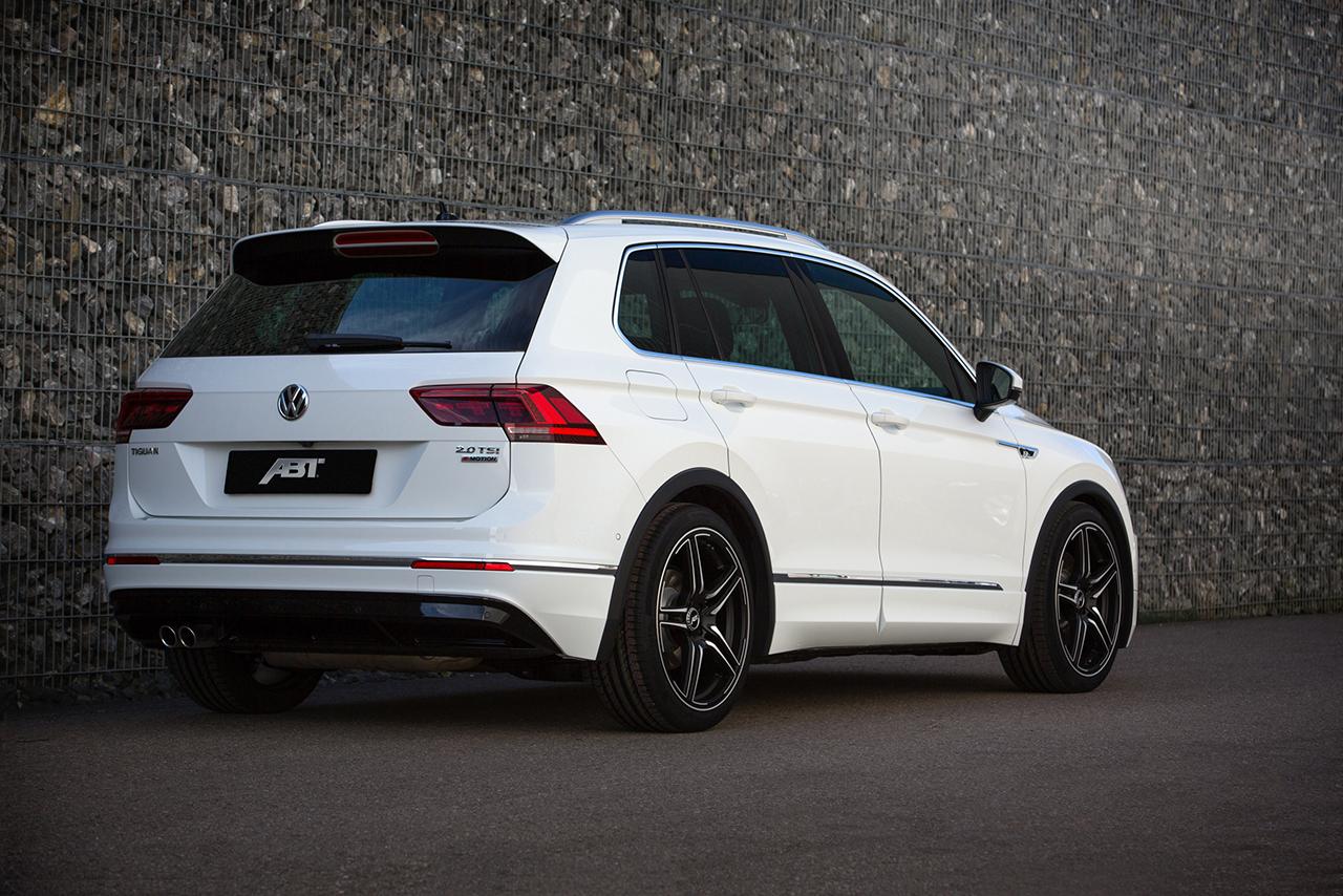 ABT Tiguan 002 More ABT POWER for the new VW Tiguan