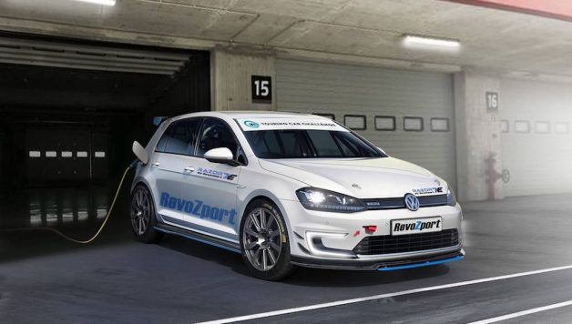 "vw golf e revozport 1 628x356 Golf VII ""RAZOR 7E"" Based on the e Golf"