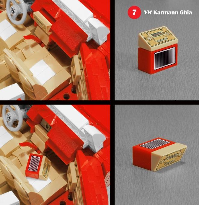 karmann guia lego 7 Lego Karmann Guia