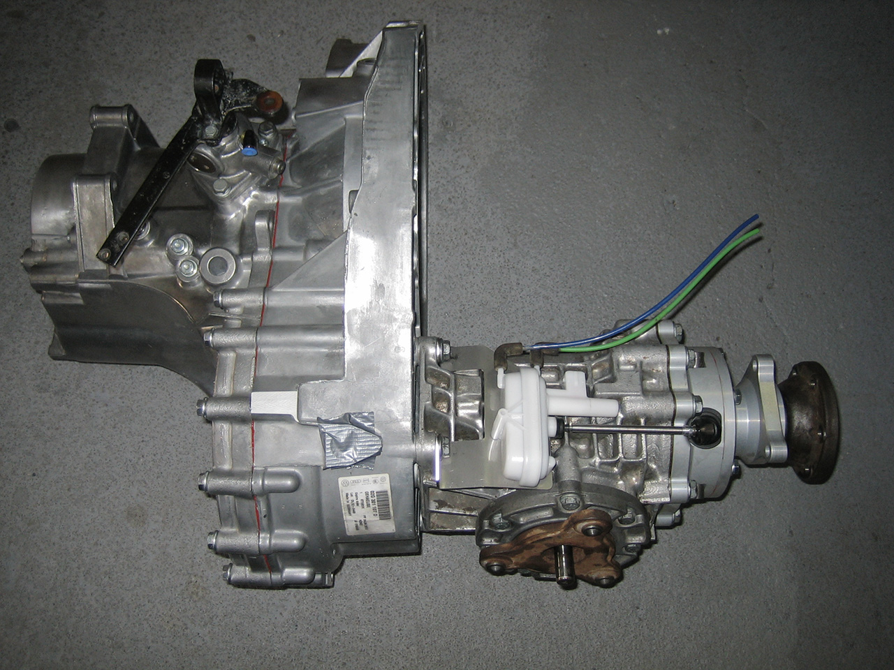 02G gearboxes kit 1 Modifications of 02G gearboxes by Eurotuning