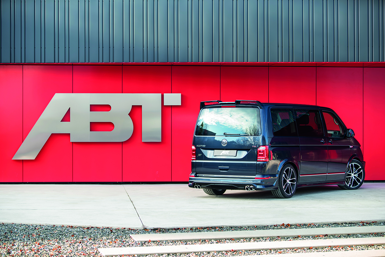 "ABT T6 003 This ""Bulli"" can do it all – in a sporty way: the new ABT T6"