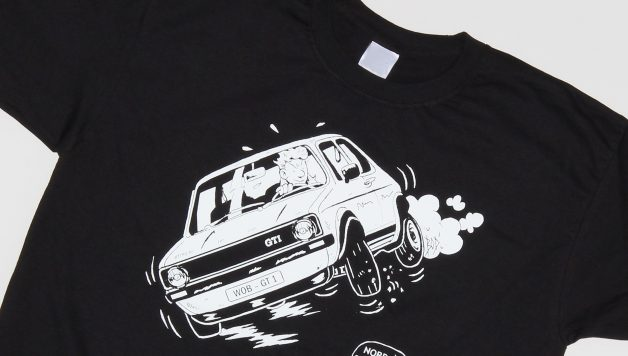 TShirt GTI 628x356 The ultimate t shirt for all drivers and fans of the Golf GTI