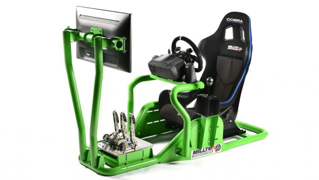 milltek gaming 1 628x356 Milltek Innovations PC/Gaming Driver Sim Rig