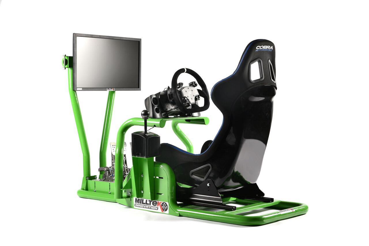 milltek gaming 5 Milltek Innovations PC/Gaming Driver Sim Rig