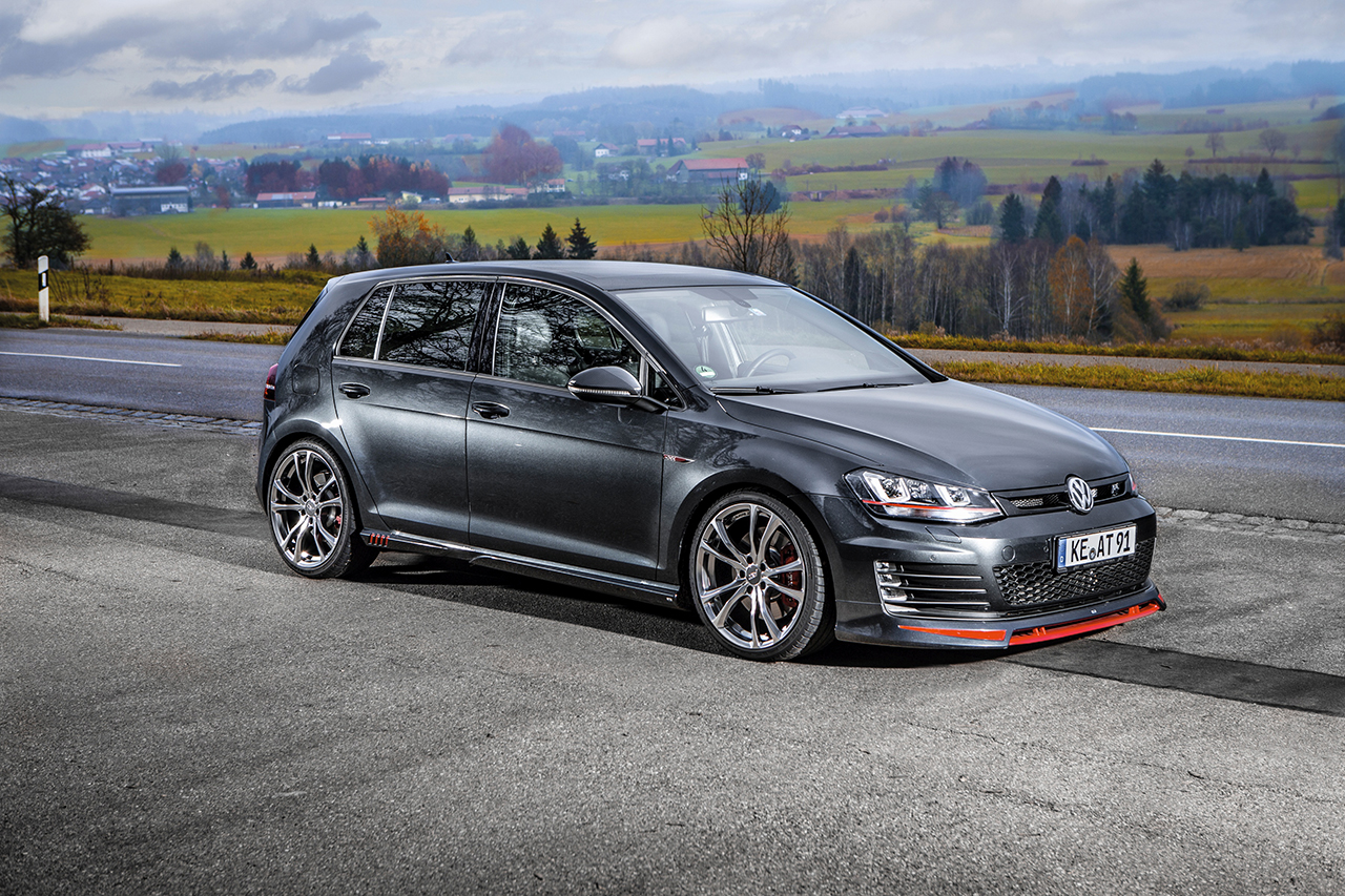 ABT GolfVII GTI antrazith 004 3600px ABT tunes the VW bestseller at a bargain price