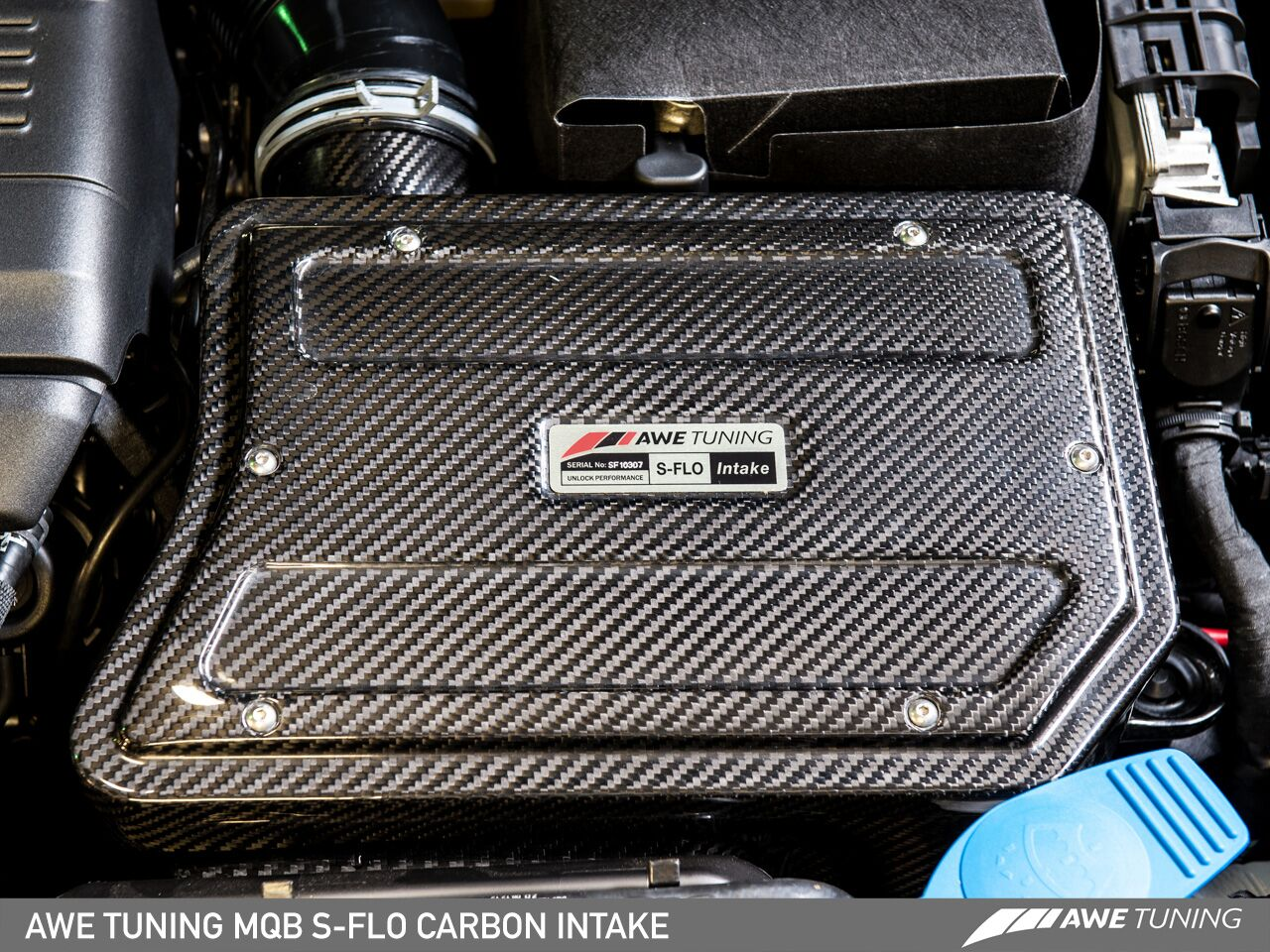 MQB Sflo carbon 1 AWE Now Able To Supply Advanced Carbon Fibre S FLO Intake Kit For MQB 1.8/2.0TFSI