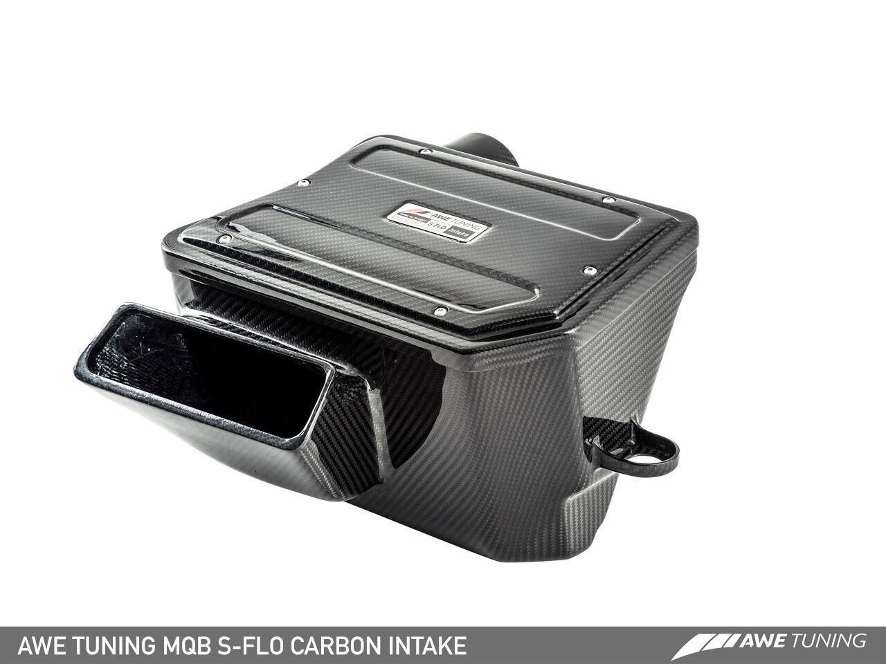 MQB Sflo carbon 3 AWE Now Able To Supply Advanced Carbon Fibre S FLO Intake Kit For MQB 1.8/2.0TFSI