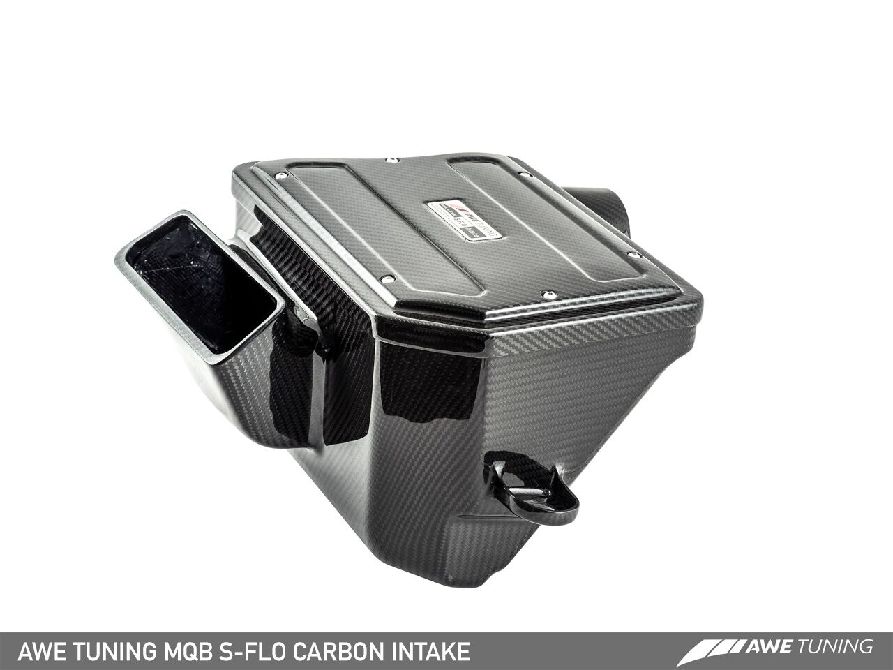 MQB Sflo carbon 5 AWE Now Able To Supply Advanced Carbon Fibre S FLO Intake Kit For MQB 1.8/2.0TFSI