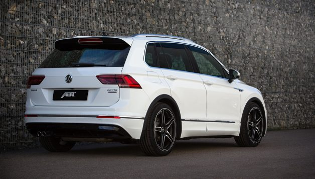 ABT Tiguan 002 628x356 ABT Tiguan wins an award and at 290 hp gains even more power