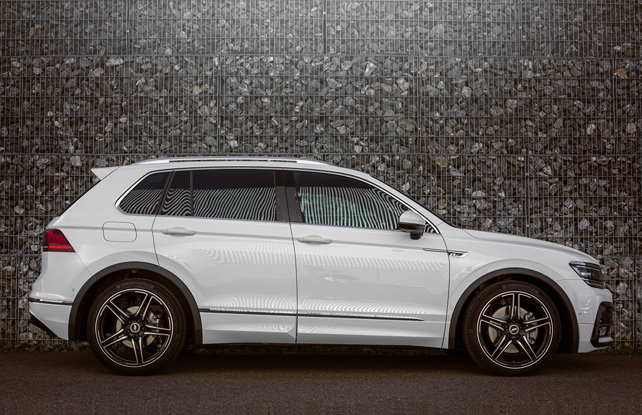 ABT Tiguan 003 ABT Tiguan wins an award and at 290 hp gains even more power