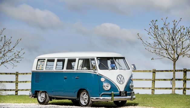 1 628x356 £90,000 VW Camper leaves Windrush Car Storage to go under the hammer at the Goodwood Festival