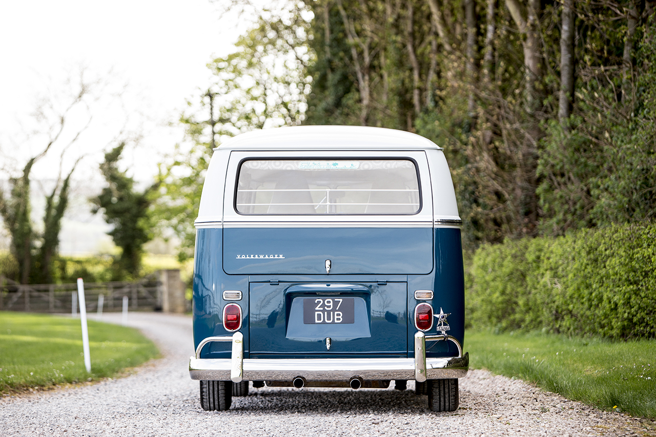 4 £90,000 VW Camper leaves Windrush Car Storage to go under the hammer at the Goodwood Festival