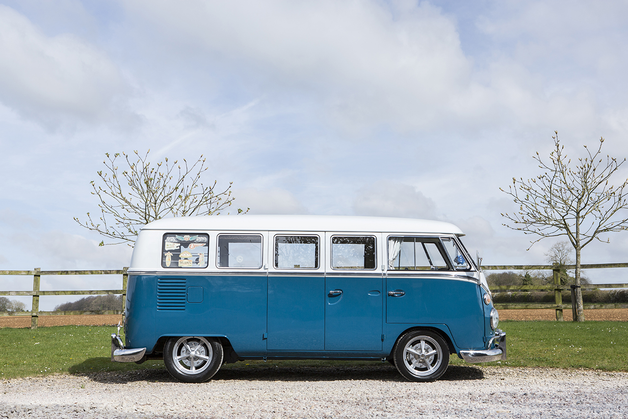 7b £90,000 VW Camper leaves Windrush Car Storage to go under the hammer at the Goodwood Festival