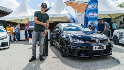 ABT GTI Clubsport Daniel Abt Wörthersee 430x244 Daniel Abt shows his car at famous GTI meeting