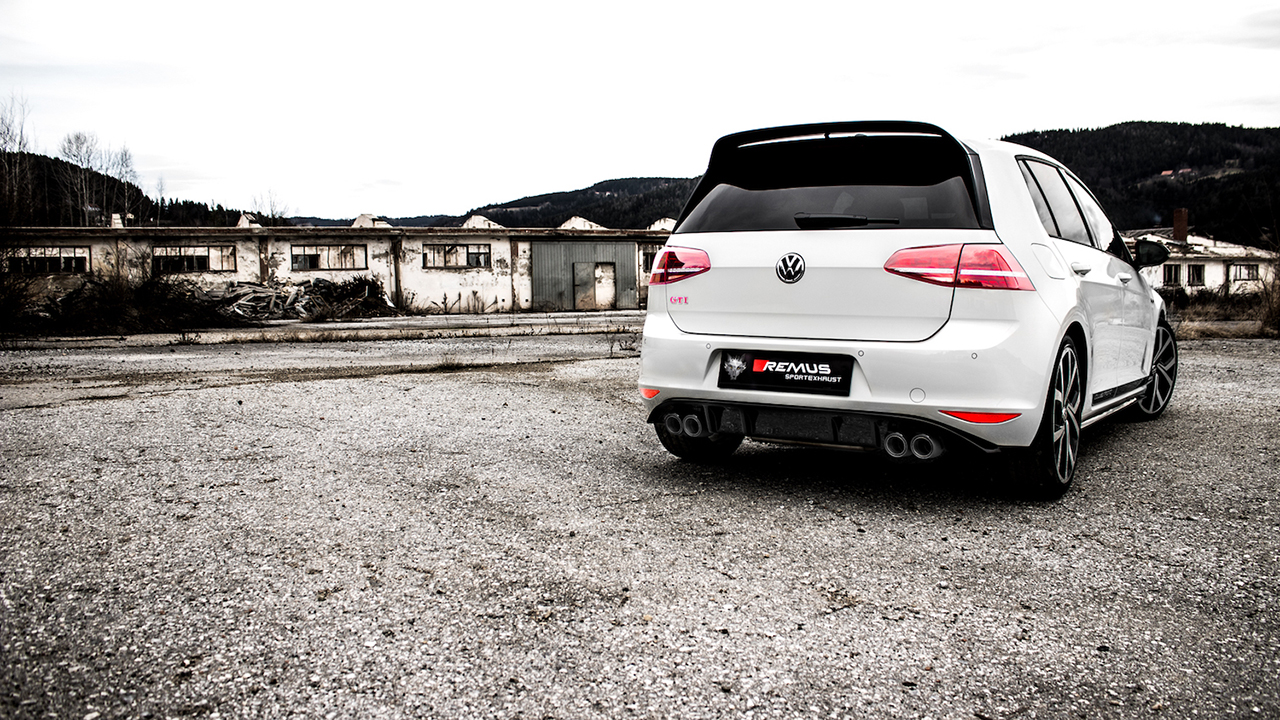 Remus Announces Cat Back Exhaust System For Vw Golf Gti Mk7 Clubsport