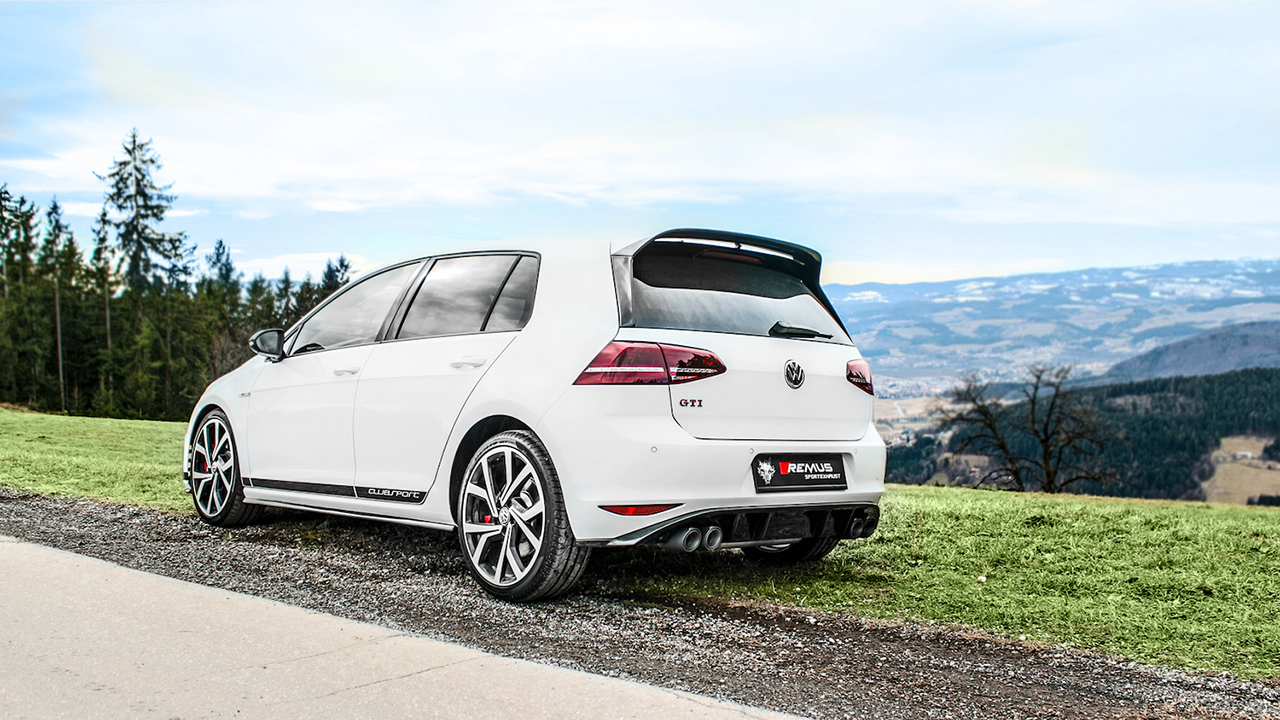 VW Golf VII GTI 1062 3 g Remus Announces Cat Back Exhaust System For VW Golf GTI MK7 Clubsport