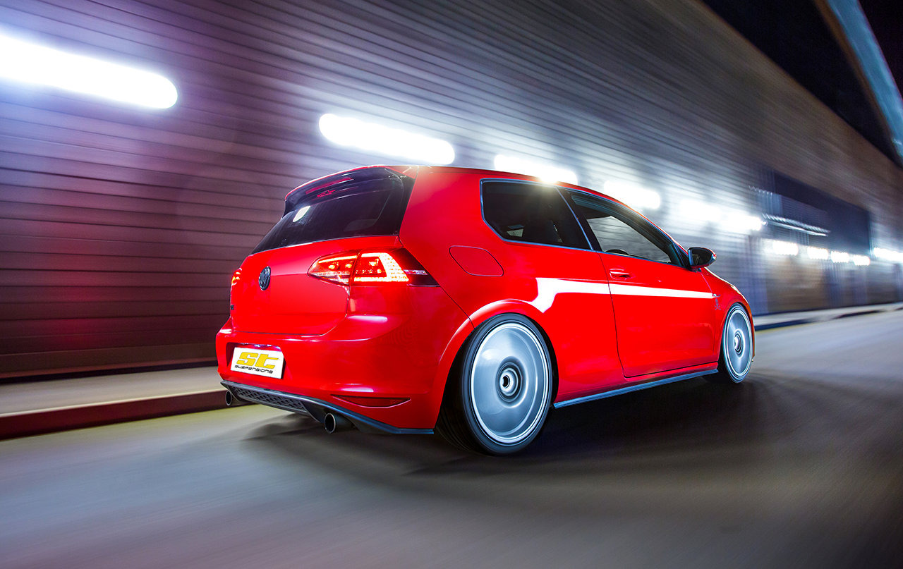 ST VW Golf VII GTI 001 ST Suspensions Range for Mk7 Golf GTD GTI and Clubsport