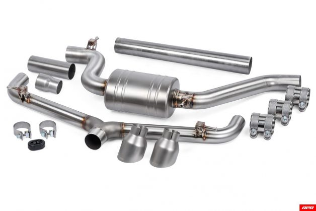 apr exhaust catback mk7 gti components full system 001 628x419 apr exhaust catback mk7 gti components full system 001