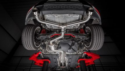 apr exhaust catback mk7 gti installed full 003 430x244 APR Bolsters Mk7 Golf Range With Cat Back Exhaust System For GTI