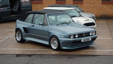 Golf1 classic tuning 430x244 ST Suspensions Diversifies Range With ST Classic Suspension Kit For Mk1 Golf